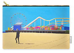 That Man On The Beach Carry-all Pouch