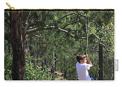 Carry-all Pouch featuring the photograph That Ole' Rope Swing by Kim Henderson