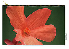That Orange Flower Carry-all Pouch