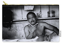 Carry-all Pouch featuring the photograph That Phili Pose by Jez C Self