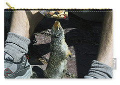 Carry-all Pouch featuring the photograph That Smells Good by Sally Weigand