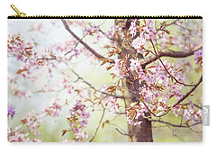 Carry-all Pouch featuring the photograph That Tender Joyful Spring by Jenny Rainbow
