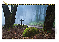 Carry-all Pouch featuring the photograph That Way by Jorge Maia