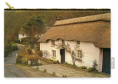 Thatched Cottage By Ford  Carry-all Pouch