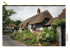 Thatched Cottages In Micheldever Carry-all Pouch