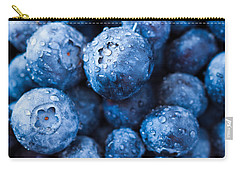 Carry-all Pouch featuring the photograph That's The Blues by Yvette Van Teeffelen