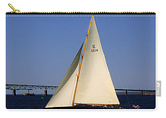 The 12 Meter Newport Carry-all Pouch by Tom Prendergast