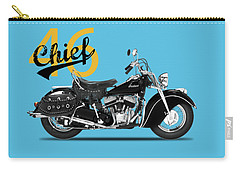 The 1946 Chief Carry-all Pouch by Mark Rogan