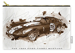 The 1965 Ford Cobra Mustang Carry-all Pouch by Gary Bodnar