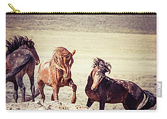 The 3 Amigos Carry-all Pouch by Mary Hone