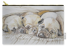 The 3 Puppies Carry-all Pouch
