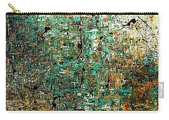 Carry-all Pouch featuring the painting The Abstract Concept by Carmen Guedez