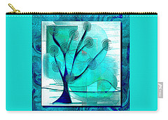 The Abstract Tree Carry-all Pouch by Iris Gelbart