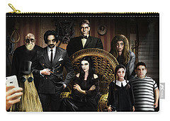 The Addams Family Carry-all Pouch by Alessandro Della Pietra