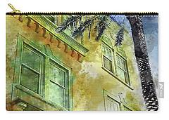 The Adrian Hotel South Beach Carry-all Pouch by Jon Neidert