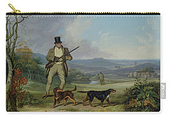 The Afternoon Shoot   Carry-all Pouch by Philip Reinagle