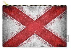 The Alabama Flag Carry-all Pouch by JC Findley