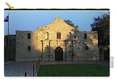 The Alamo At Dusk Carry-all Pouch
