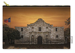 The Alamo Mission In San Antonio Carry-all Pouch