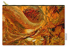 Carry-all Pouch featuring the painting The Alchemist by Henryk Gorecki