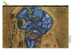 The Alien Kiss By Blastoff Klimt Carry-all Pouch
