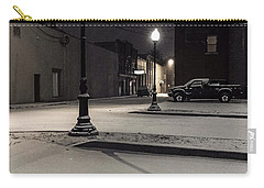 Carry-all Pouch featuring the photograph The Alley by Kendall McKernon