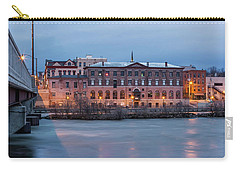 Carry-all Pouch featuring the photograph The Allure Of Old by Everet Regal