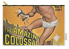 The Amazing Colossal Man Movie Poster Carry-all Pouch