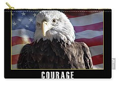 The American Bald Eagle Carry-all Pouch