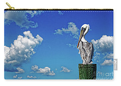 The American Brown Pelican Carry-all Pouch by Paul Mashburn