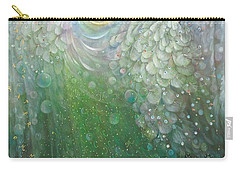 The Angel Of Growth Carry-all Pouch by Annael Anelia Pavlova