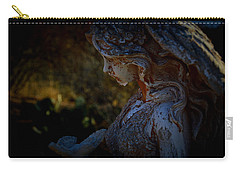 The Angel Of The Grove Carry-all Pouch by Nature Macabre Photography