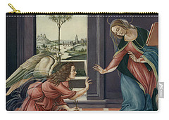 The Annunciation After Botticelli Carry-all Pouch