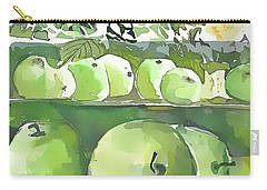 Carry-all Pouch featuring the painting The Apple Closet by Mindy Newman