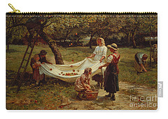 The Apple Gatherers Carry-all Pouch by Frederick Morgan