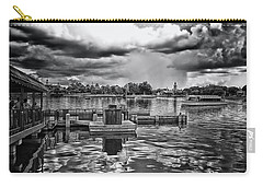 The Approaching Storm Walt Disney World Bw Mp Carry-all Pouch