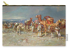 The Arab Caravan   Carry-all Pouch by Italian School