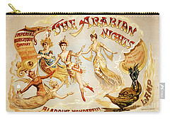 The Arabian Nights Burlesque Carry-all Pouch