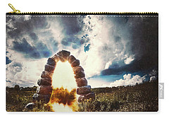The Arch On The Edge Of Forever Carry-all Pouch