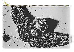 The Art Of A Vintage Angel Carry-all Pouch