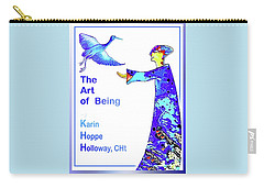 The Art Of Being. . .  Carry-all Pouch by Hartmut Jager