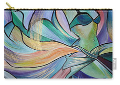 The Art Of Belly Dance Carry-all Pouch by Tracey Harrington-Simpson