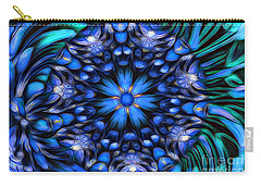 The Art Of Feeling Centered Carry-all Pouch by Mary Lou Chmura