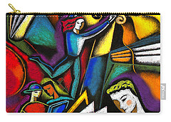 Carry-all Pouch featuring the painting The Art Of Learning by Leon Zernitsky