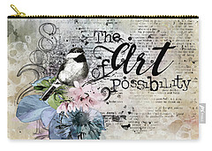 The Art Of Possibility Carry-all Pouch