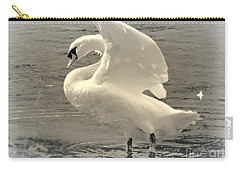 The Art Of The Swan  Carry-all Pouch