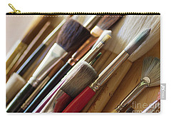 Carry-all Pouch featuring the photograph The Artist's Studio by Ana V Ramirez