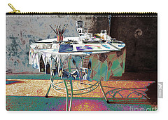 The Artists Table Carry-all Pouch by Don Pedro De Gracia