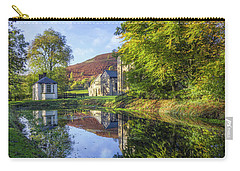 Carry-all Pouch featuring the photograph The Autumn Pond by Ian Mitchell