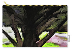 The Avenue Of Trees 1 Carry-all Pouch